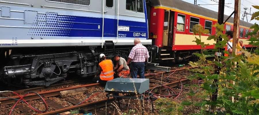 W środę doszło do pierwszego wykolejenia się pociągu w Iławie.