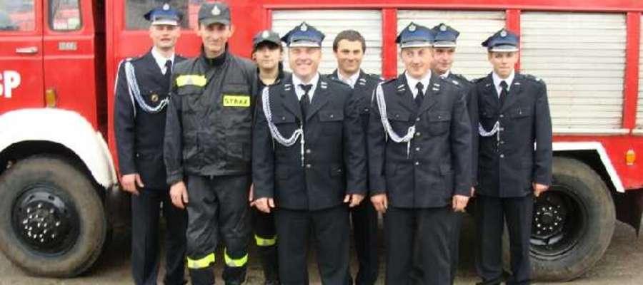 Strażacy z OSP Szczepkowo Borowe