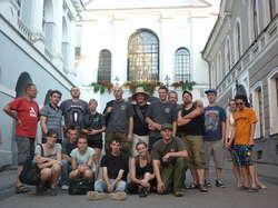 Wilno - Ostra Brama, członkowie Bractwa Rycerskiego Komturii Nidzickiej