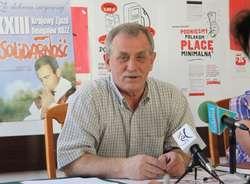 Jan Fiodorowicz, przewodniczący ZR NSZZ Solidarność w Elblągu