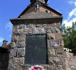Pomnik poległych w Sząbruku