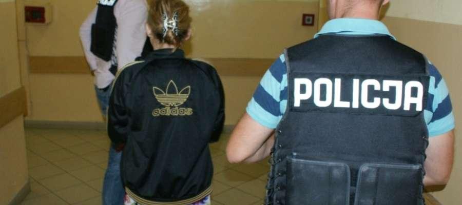 41-letnia kobieta została zatrzymana przez policję