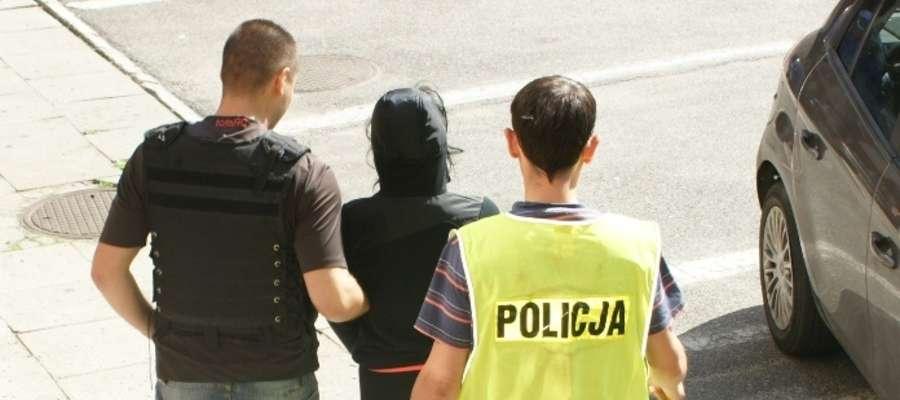 Policjanci zatrzymali m.in. 21-letnią Bogumiłę W.