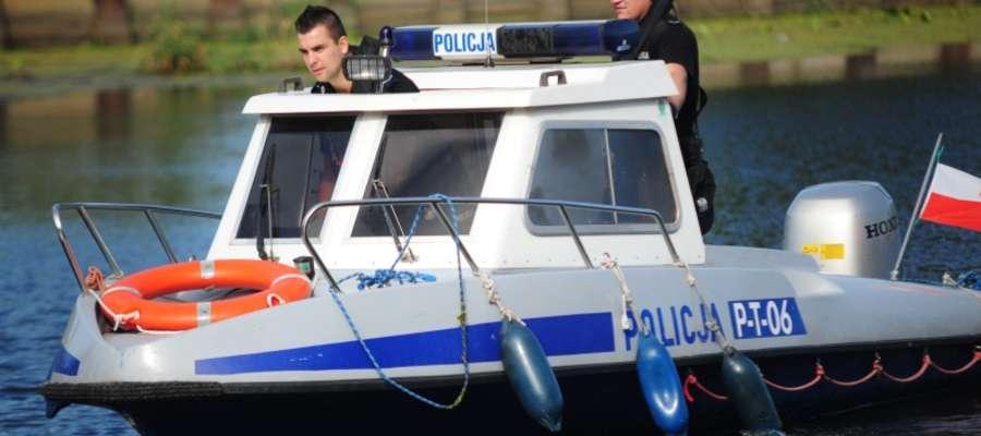 Patrol wodny policji patrolował elbląskie wody codziennie przez dwanaście godzin