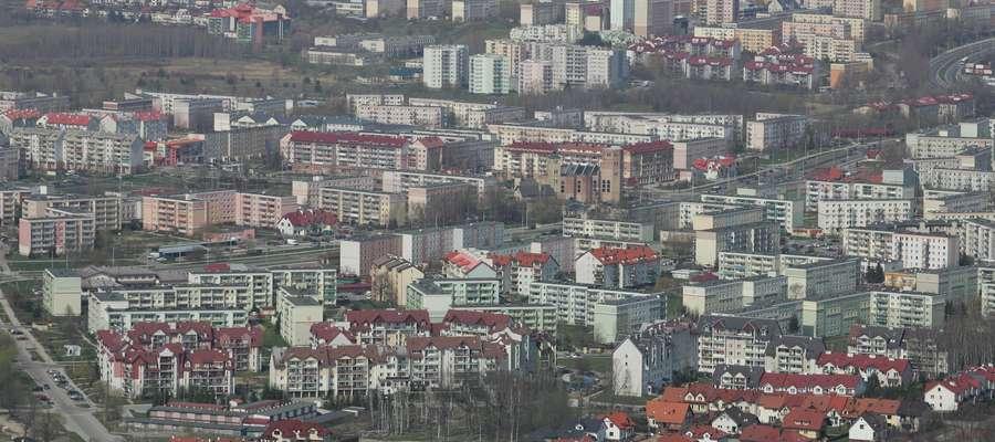 Osiedle Pieczewo z lotu ptaka