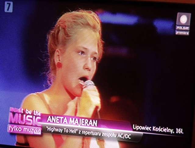 Aneta Majeran z Lipowca Kościelnego w Must Be The Music 4 - full image