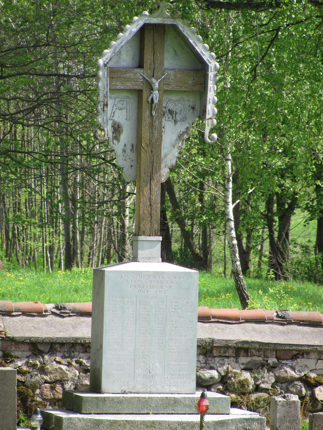 Pomnik poległych mieszkańców w Piotrowcu - full image
