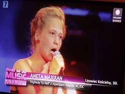 Aneta Majeran z Lipowca Kościelnego w Must Be The Music 4