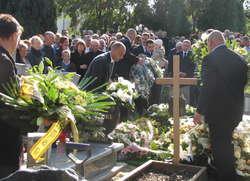 Po zakończeniu mszy, z kościoła wyruszył kondukt żałobny. Małgorzata W. spoczęła na cmentarzu przy ul. Morskiej w Braniewie.