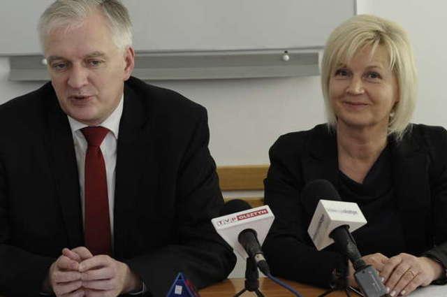 Jarosław Gowin był w Olsztynie przez dwa dni. Spotkał się m.in. ze studentami, licealistami i sędziami. - full image