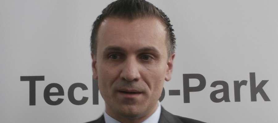 Daniel Kulig został dyrektorem Techno-Parku w Ełku