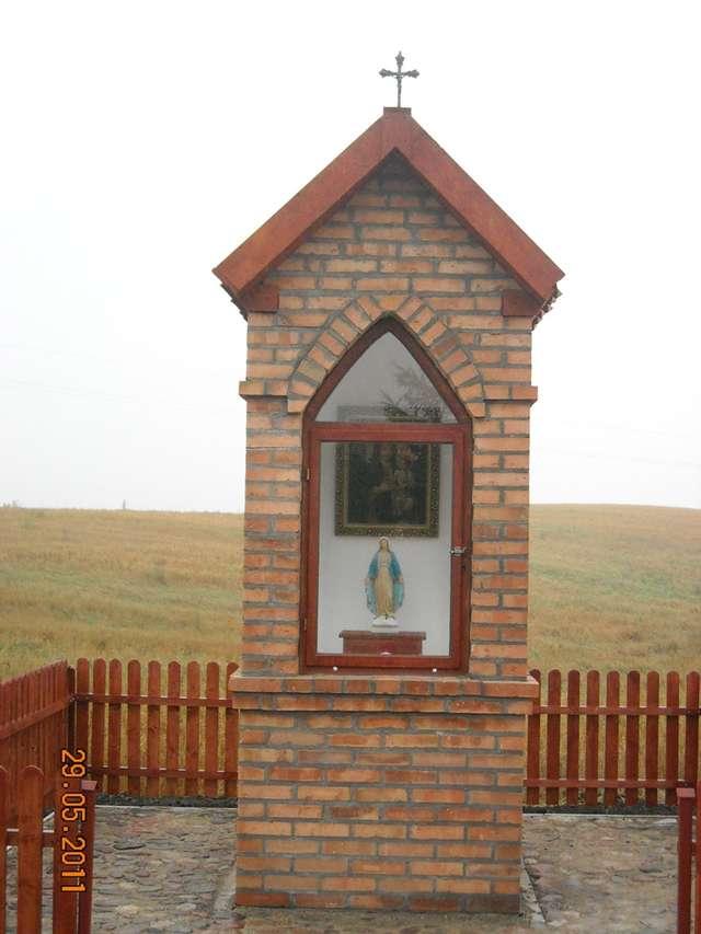 Kapliczka w Niedźwiedziu – najmłodsza na Warmii - full image