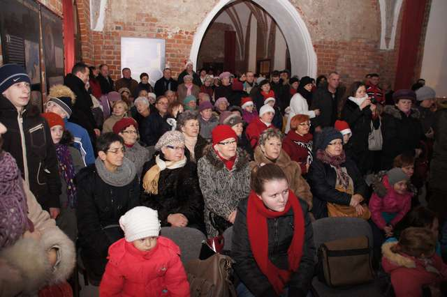 Spotkanie Wigilijne na zamku. Zdjęcia i filmy - full image