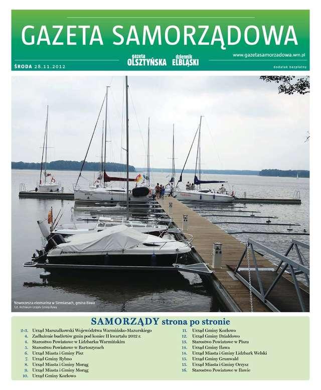 Gazeta Samorządowa - 28.11.2012 - full image