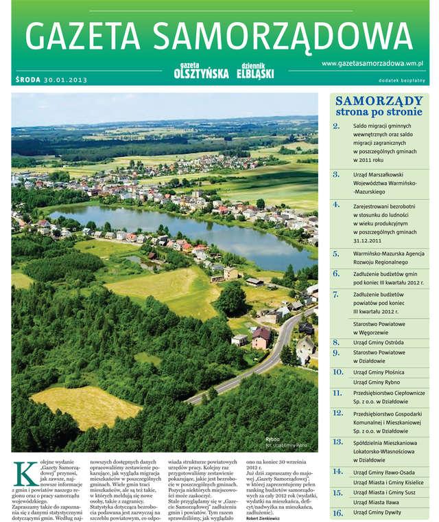 Gazeta Samorządowa - 30.01.2013 - full image