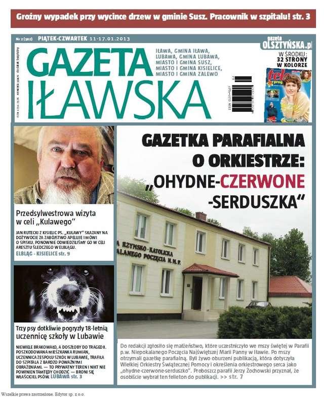 """WOŚP według """"białego kościoła"""" w Iławie - full image"""