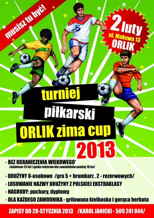 Turniej piłkarski Orlik - Zima Cup 2013 - full