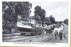 Historia żeglugi po kanale liczy już 100 lat