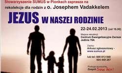 Rekolekcje: Jezus w naszej rodzinie