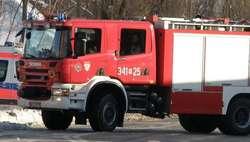 Dzwonek/Ostrołęka: Pożar domu i uszkodzony piec postawiły straż pożarną na nogi