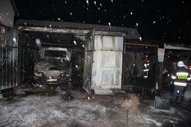 Tragiczny pożar w Białowieży - full image