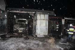 Tragiczny pożar w Białowieży