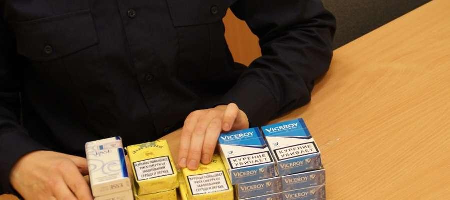 Za posiadanie papierosów z przemytu grozi kobietą kara grzywny