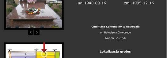 Tak wygląda w sieci grób byłego proboszcza Władysława Strycharza