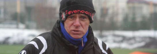 Zbigniew Kieżun, trener Warmiaka Łukta.