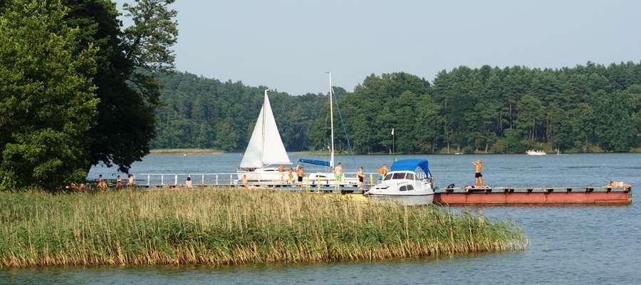 Jezioro Nidzkie to ulubiony akwen żeglarzy