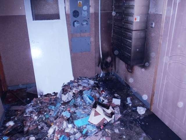 Do pożaru doszło w niedzielę (24.03.) kilka minut po godz. 17.00 - full image
