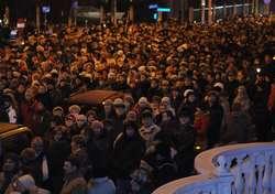 Wczoraj ulicami Elbląga przeszli wierni w procesji drogi krzyżowej