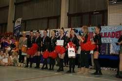 Trzy złote medale zdobyły elbląskie cheerleaderki