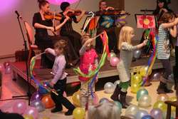 Cykl koncertów promujących muzykę kameralną wśród najmłodszych prowadzi kwartet Agitato