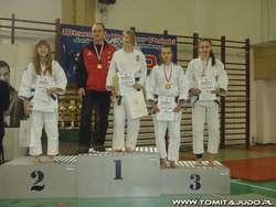 W Pucharze Polski zawodniczka UKS Tomita, Ola Mazur zajęła pierwsze miejsce