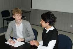 Łukasz Pierwienis, uczeń I LO, wybiera się na prawo do Harvardu