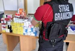 Na targowisku skonfiskowano papierosy nie posiadające polskich znaków skarbowych