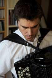 Hiszpański wirtuoz akordeonu Iñaki Alberdi