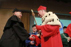 Niemiecki profesor z tytułem doktora honoris causa UWM