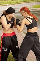 Od lewej: Sandra Kruk i Żaneta Cieśla