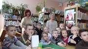 Kolejni mali lubawianie w bibliotece