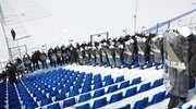 Wielkie manewry policji w Ostródzie. 4 godziny ćwiczeń przy -15°C