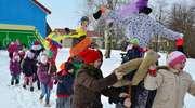 Uczniowie ze Szkoły Podstawowej w Perłach pożegnali zimę
