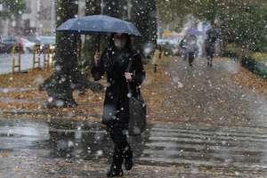 Nadchodzi ochłodzenie. W niedzielę opady deszczu ze śniegiem!