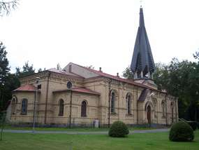 Cerkiew prawosławna, obecnie kościół MB Częstochowskiej w Augustowie