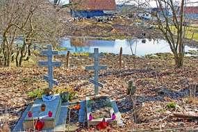 Cmentarz staroobrzędowców w Ładnym Polu