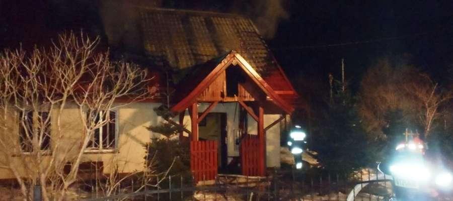 Do pożaru doszło w sobotę (23.03.) kilkanaście minut przed godz. 19.00