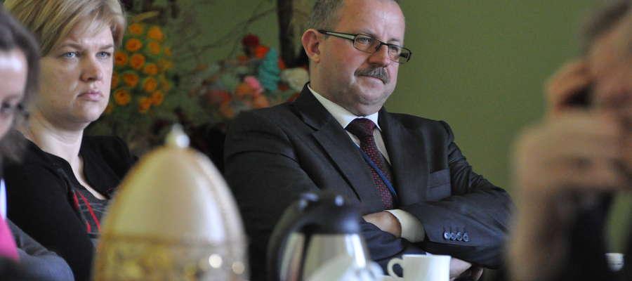 Plan najpilniejszych inwestycji przedstawiał Jerzy Rzymowski