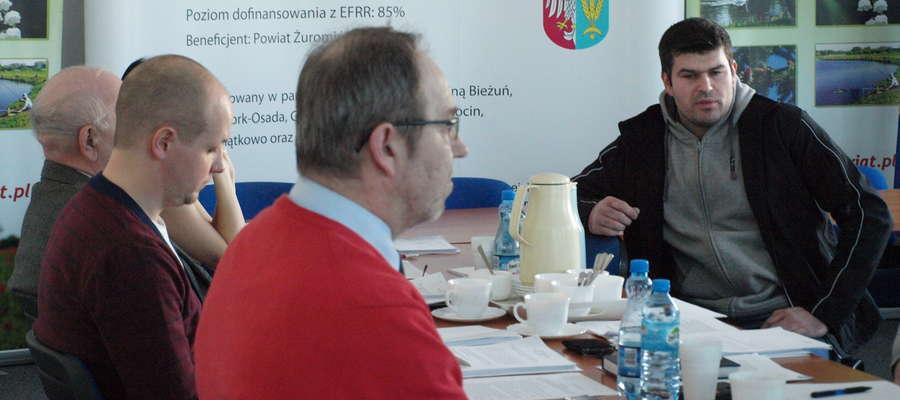 Na Komisji menager szkółki przedstawił problem radnym