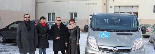 Powiat kupił samochód do przewozu osób niepełnosprawnych za 106500 złotych